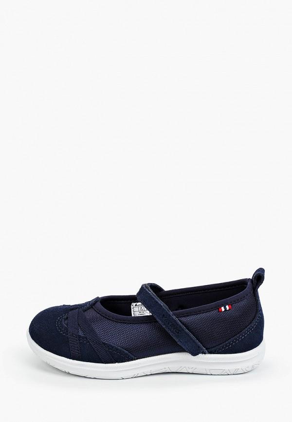 туфли viking для девочки, синие