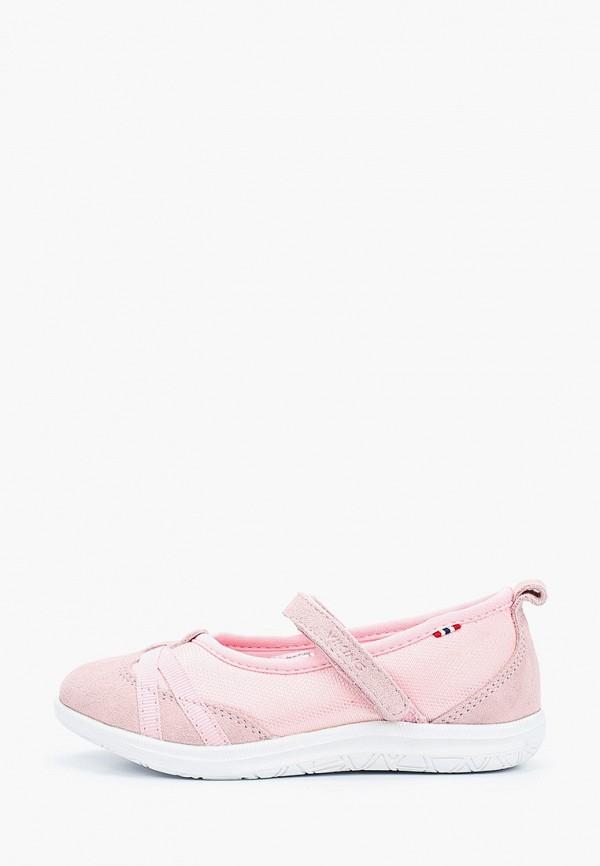 туфли viking для девочки, розовые