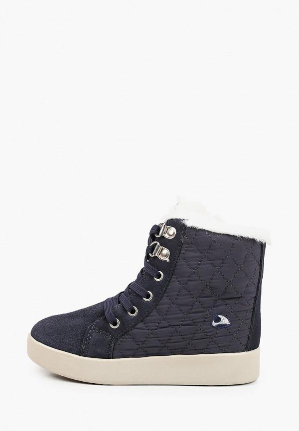 ботинки viking для девочки, синие