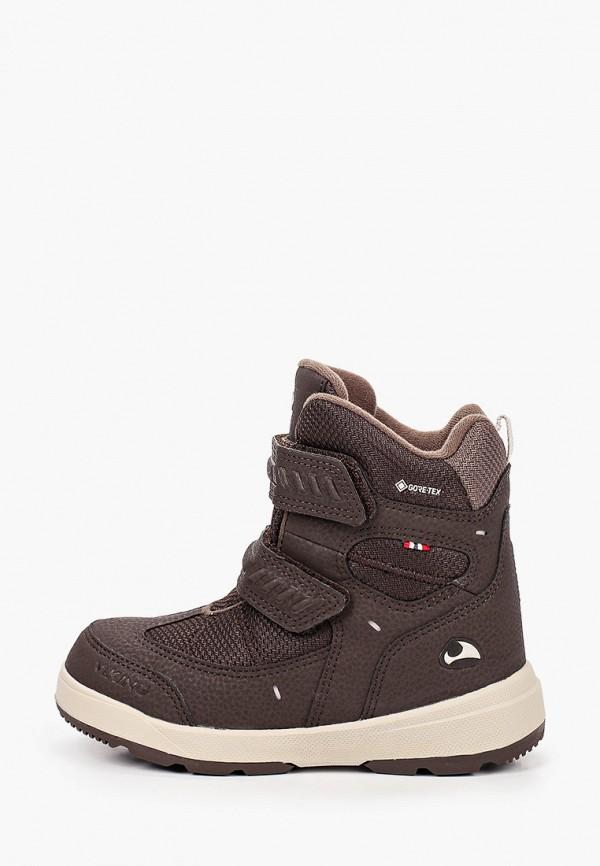 ботинки viking малыши, коричневые