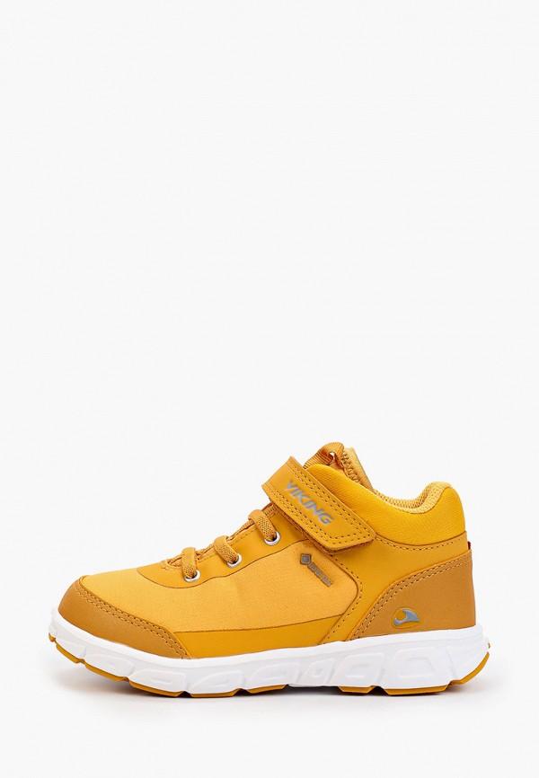 кроссовки viking малыши, желтые