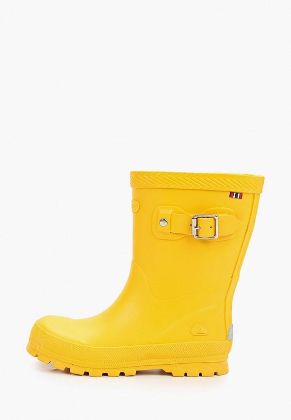 резиновые сапоги viking малыши, желтые