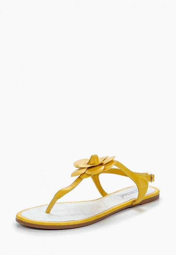 женские сандалии vivian royal, желтые