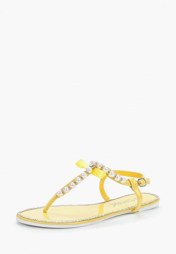Купить Сандалии Vivian Royal, VI809AWBJLS7, желтый, Весна-лето 2018