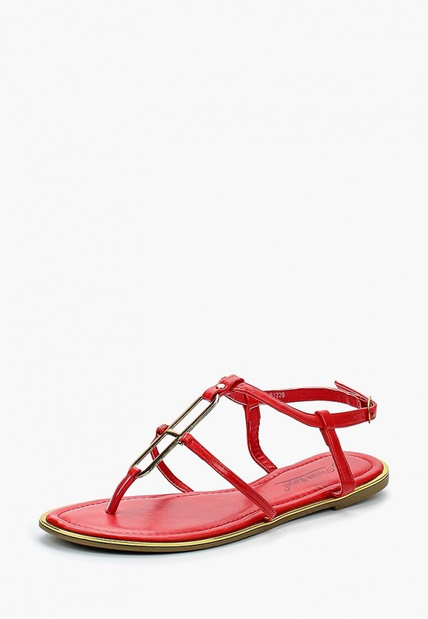 женские сандалии vivian royal, красные