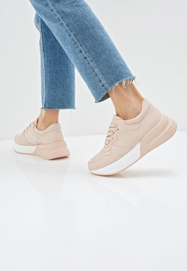 Фото 6 - женские кроссовки Vivian Royal розового цвета