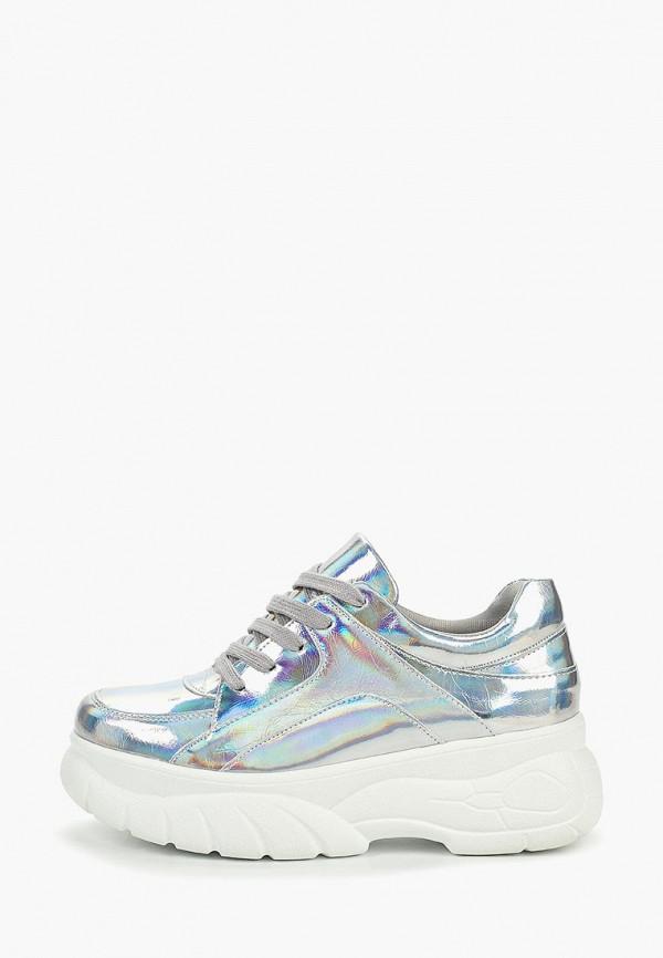 Фото - женские кроссовки Vivian Royal серебрянного цвета