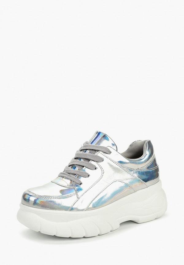 Фото 2 - женские кроссовки Vivian Royal серебрянного цвета