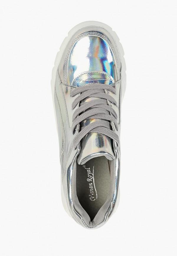 Фото 4 - женские кроссовки Vivian Royal серебрянного цвета
