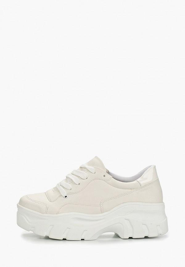Фото - женские кроссовки Vivian Royal белого цвета