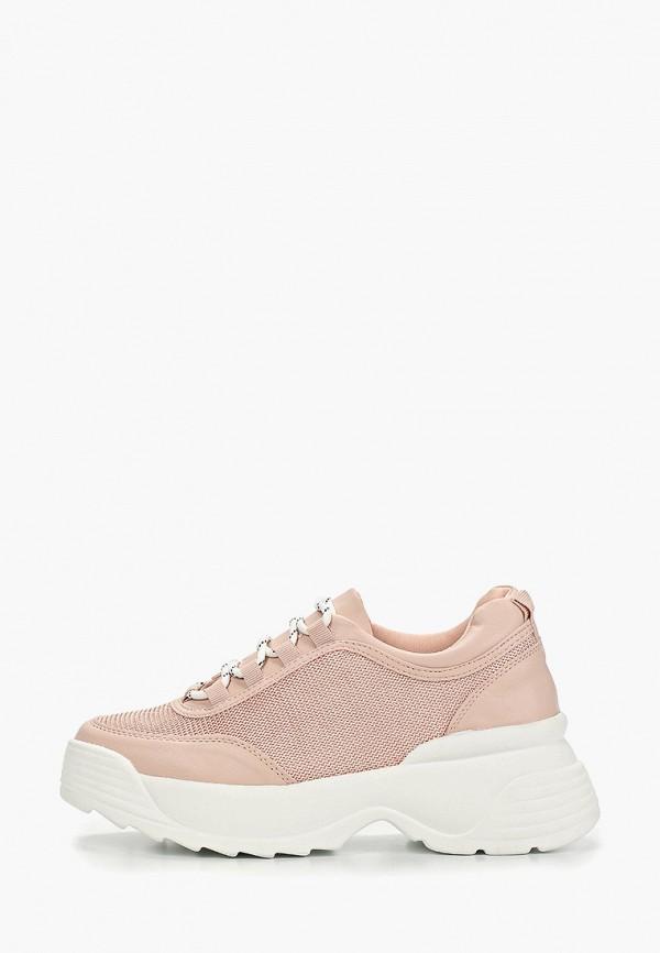 Фото - женские кроссовки Vivian Royal розового цвета