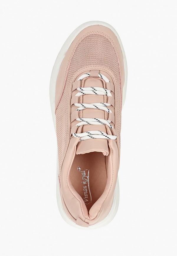 Фото 4 - женские кроссовки Vivian Royal розового цвета