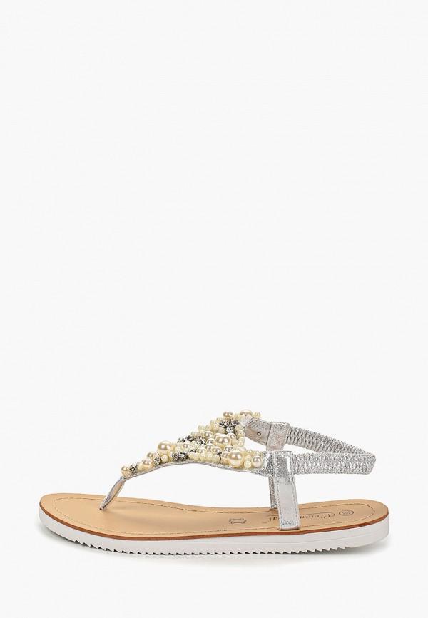 женские сандалии vivian royal, серебряные