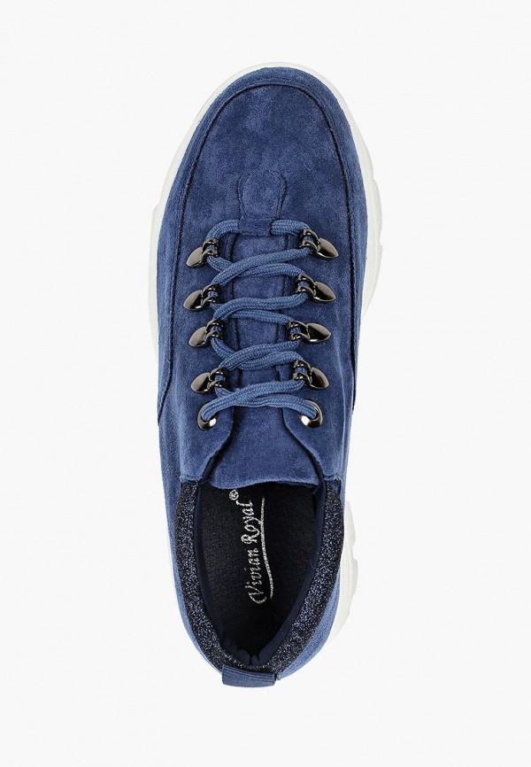 Фото 4 - женские кроссовки Vivian Royal синего цвета