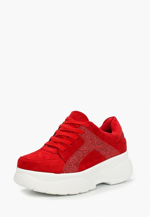 Фото 2 - женские кроссовки Vivian Royal красного цвета