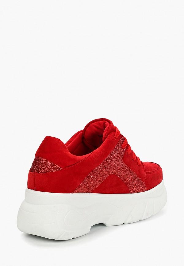 Фото 3 - женские кроссовки Vivian Royal красного цвета