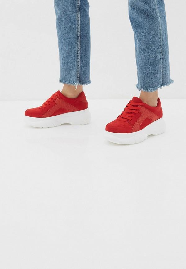 Фото 6 - женские кроссовки Vivian Royal красного цвета