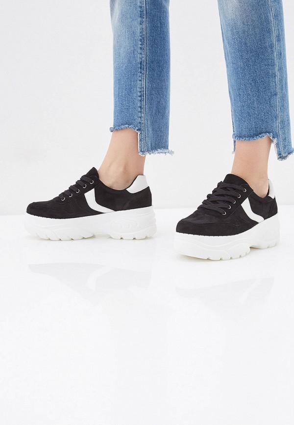 Фото 6 - женские кроссовки Vivian Royal черного цвета