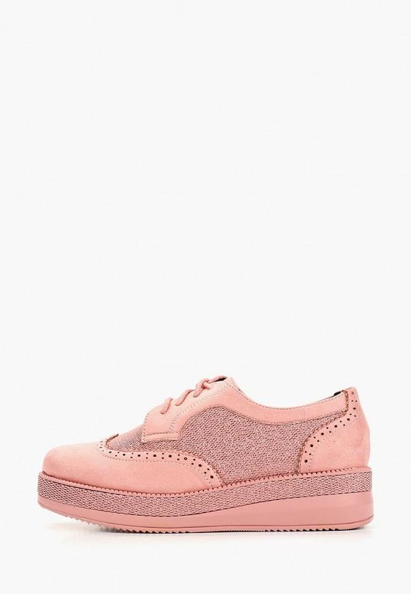 женские ботинки vivian royal, розовые