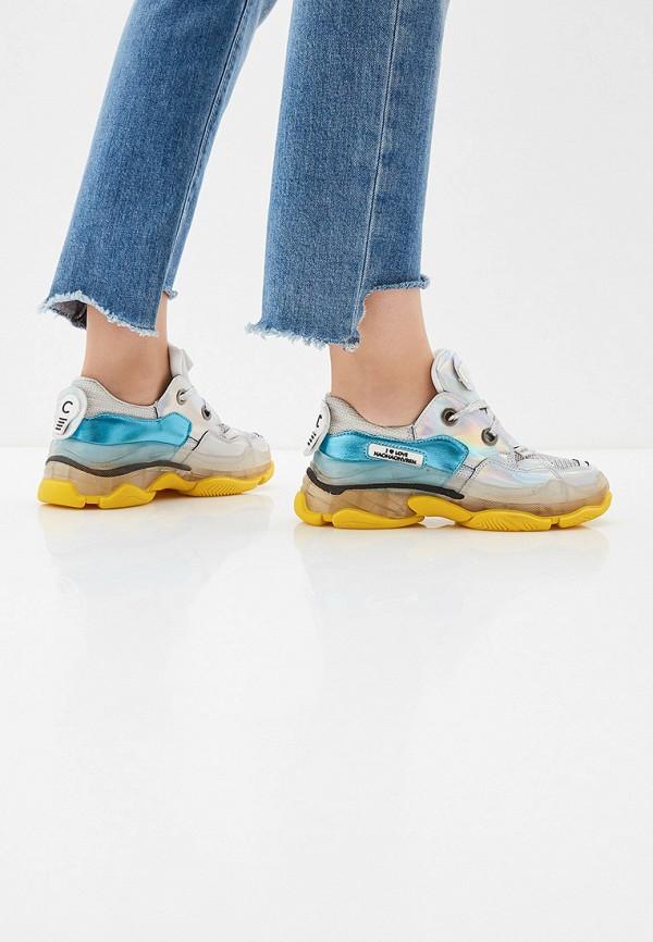 Фото 6 - женские кроссовки Vivian Royal серебрянного цвета