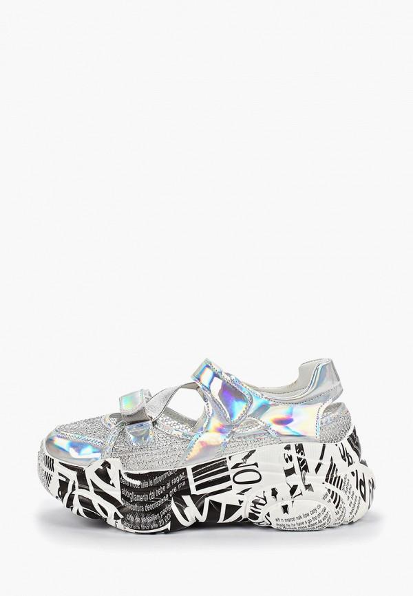 женские кроссовки vivian royal, серебряные