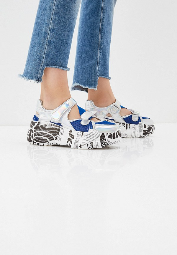 Фото 6 - женские кроссовки Vivian Royal синего цвета