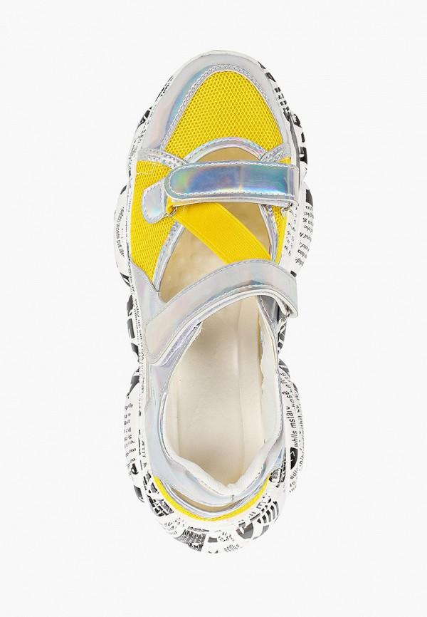 Фото 4 - женские кроссовки Vivian Royal желтого цвета