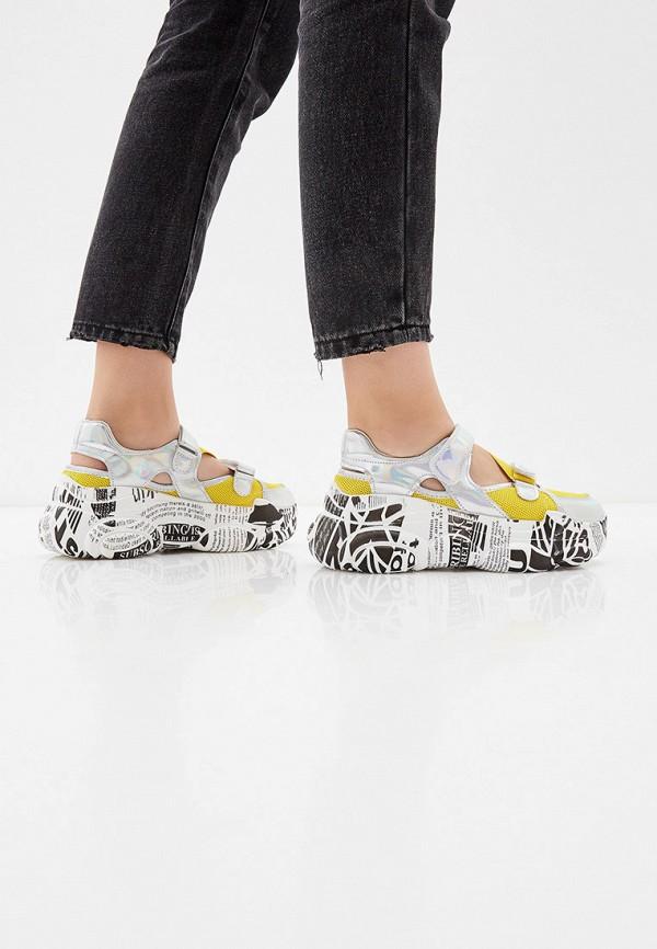 Фото 6 - женские кроссовки Vivian Royal желтого цвета