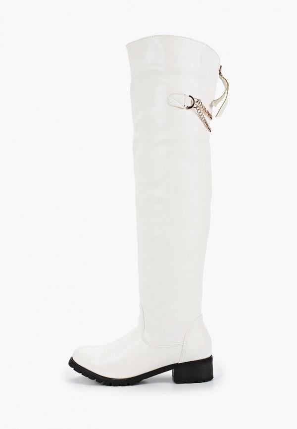 женские ботфорты vivian royal, белые