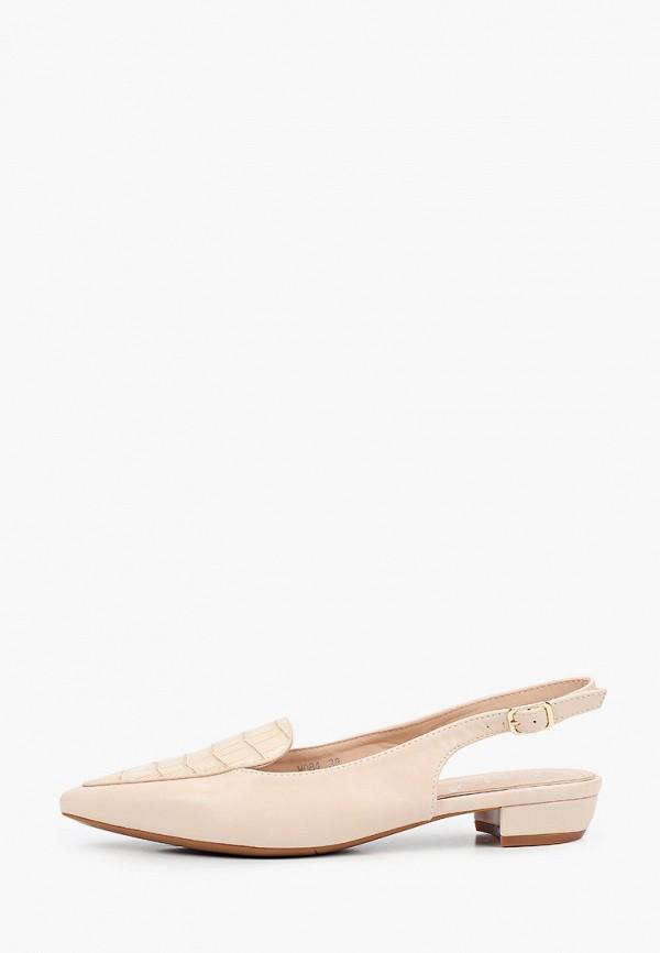 женские туфли vivian royal, бежевые
