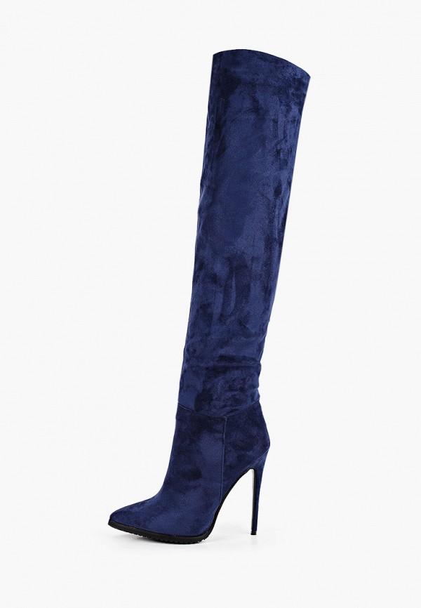 женские ботфорты vivian royal, синие