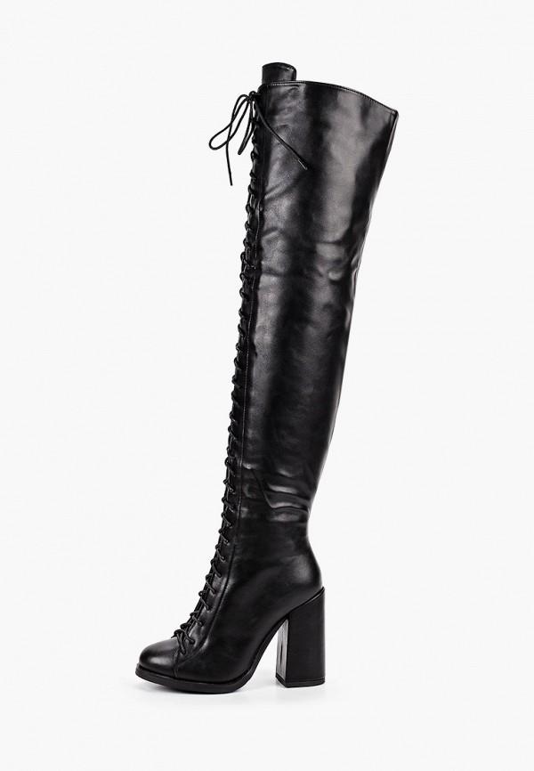 женские ботфорты vivian royal, черные