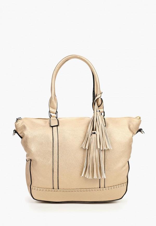 женская сумка vivian royal, золотая