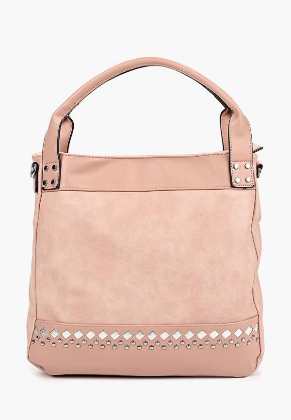 женская сумка vivian royal, розовая