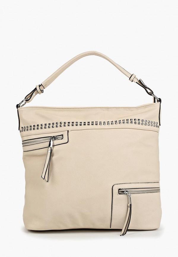 женская сумка vivian royal, бежевая