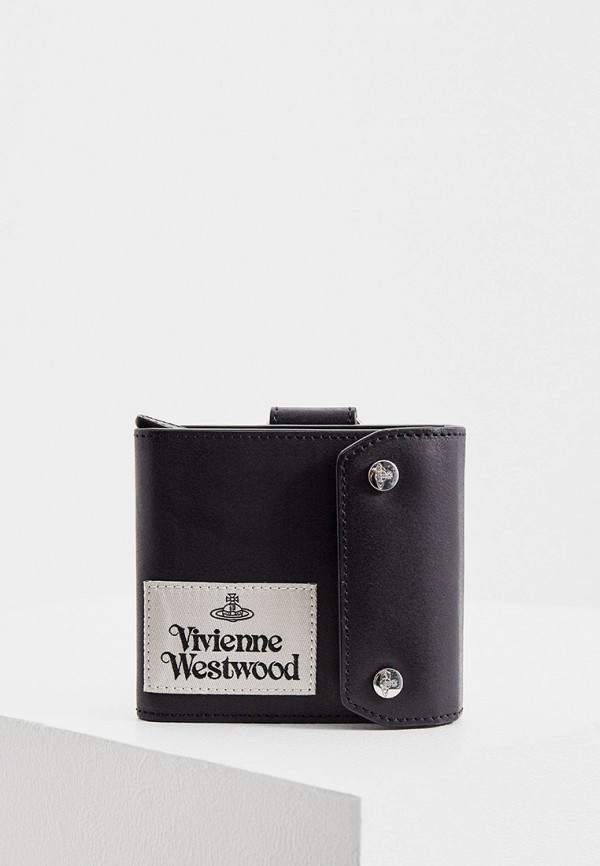 мужской кошелёк vivienne westwood, черный