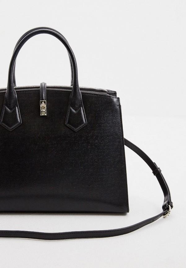 Фото 3 - женскую сумку Vivienne Westwood черного цвета