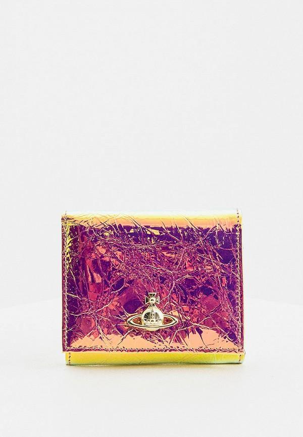 женский кошелёк vivienne westwood, разноцветный