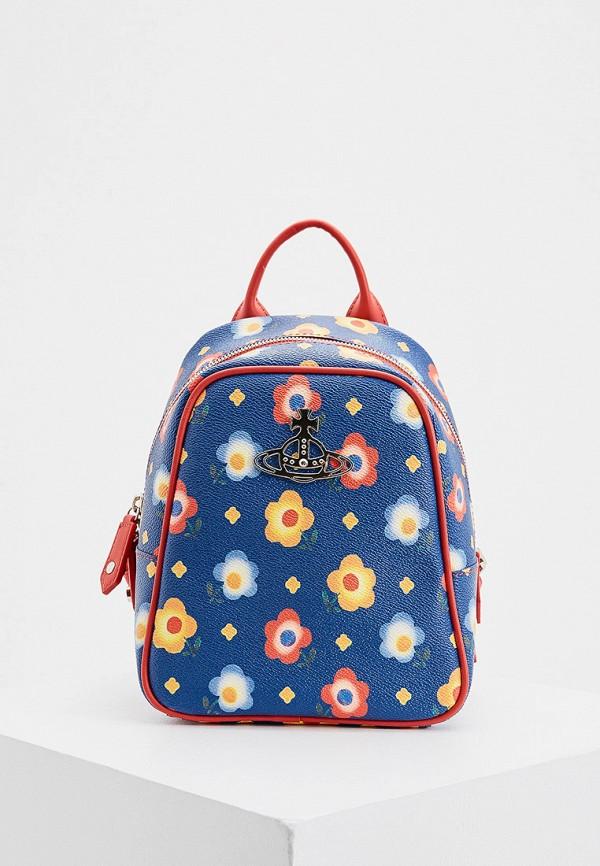 женский рюкзак vivienne westwood, синий