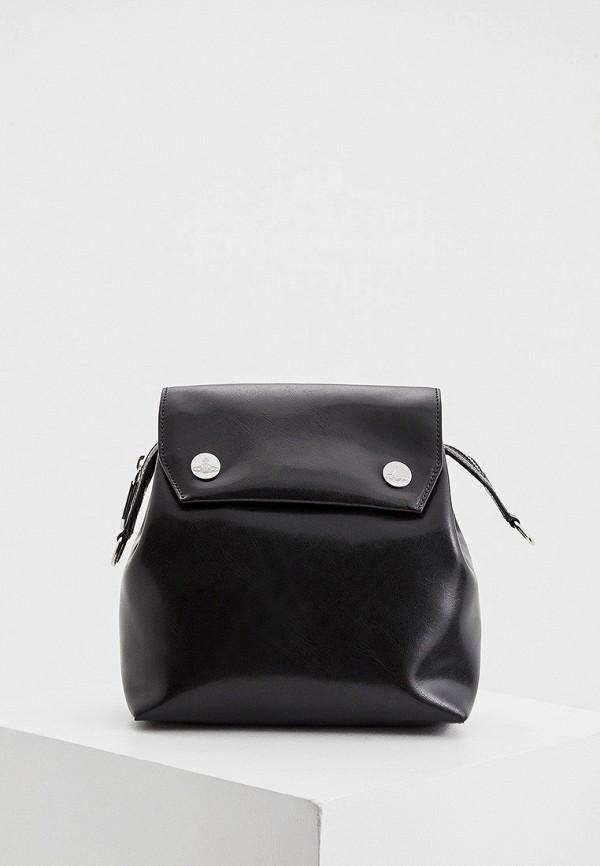 женский рюкзак vivienne westwood, черный
