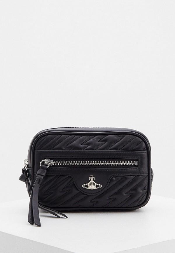 женская поясные сумка vivienne westwood, черная