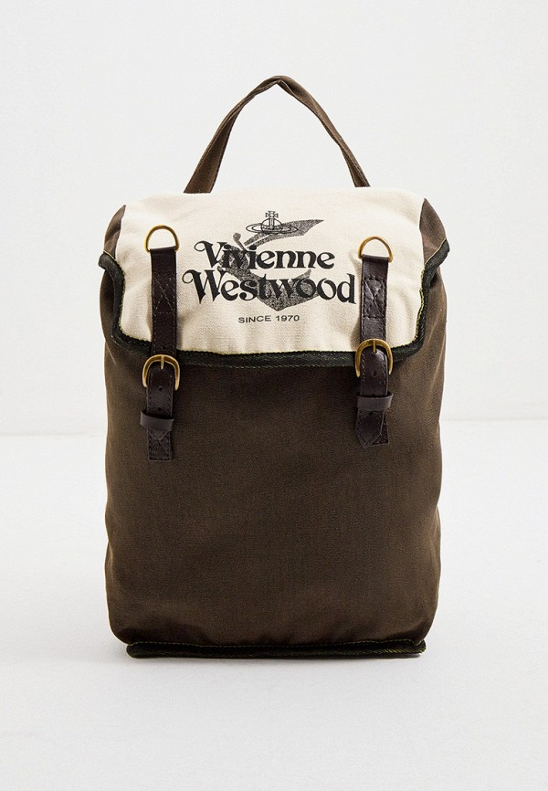 женский рюкзак vivienne westwood, хаки