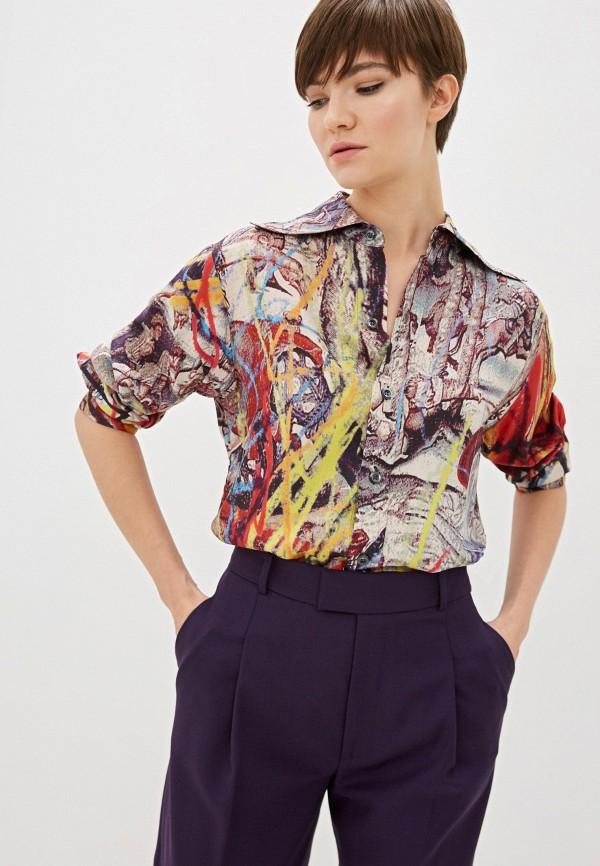 женская блузка vivienne westwood, разноцветная