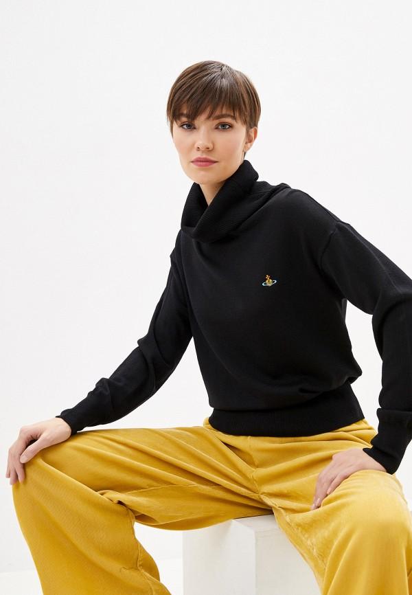 женский свитер vivienne westwood, черный