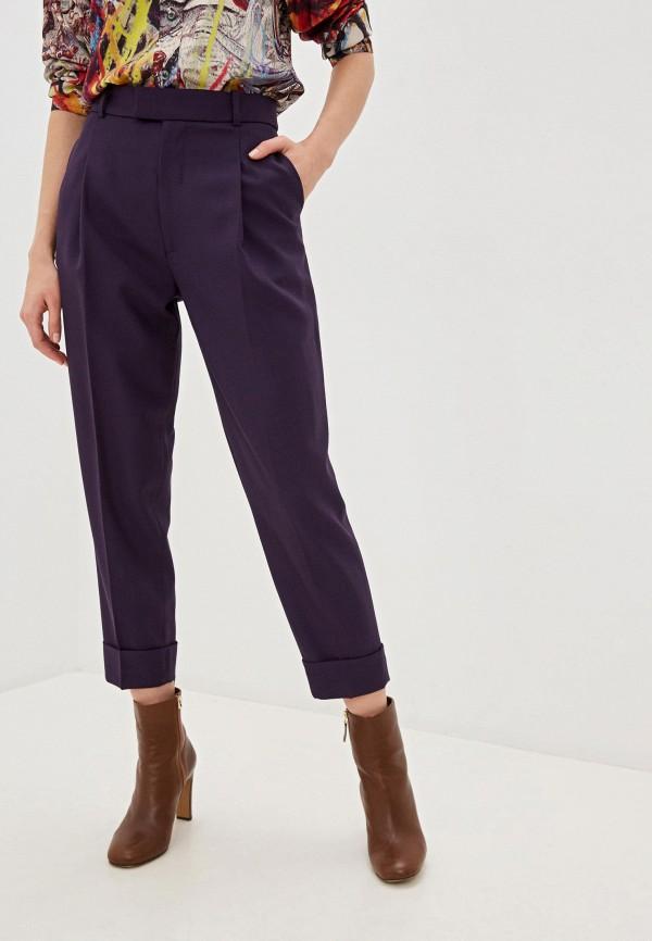 женские классические брюки vivienne westwood, фиолетовые