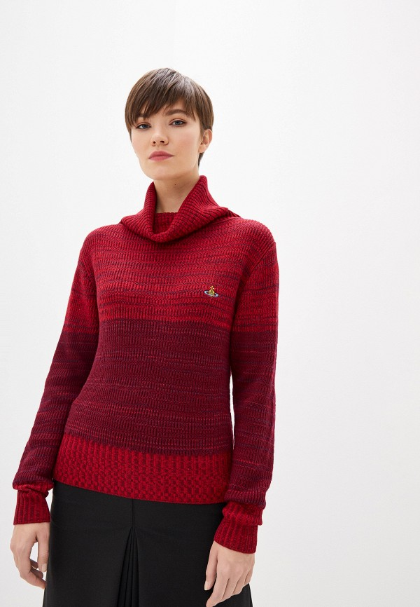 женский свитер vivienne westwood, бордовый