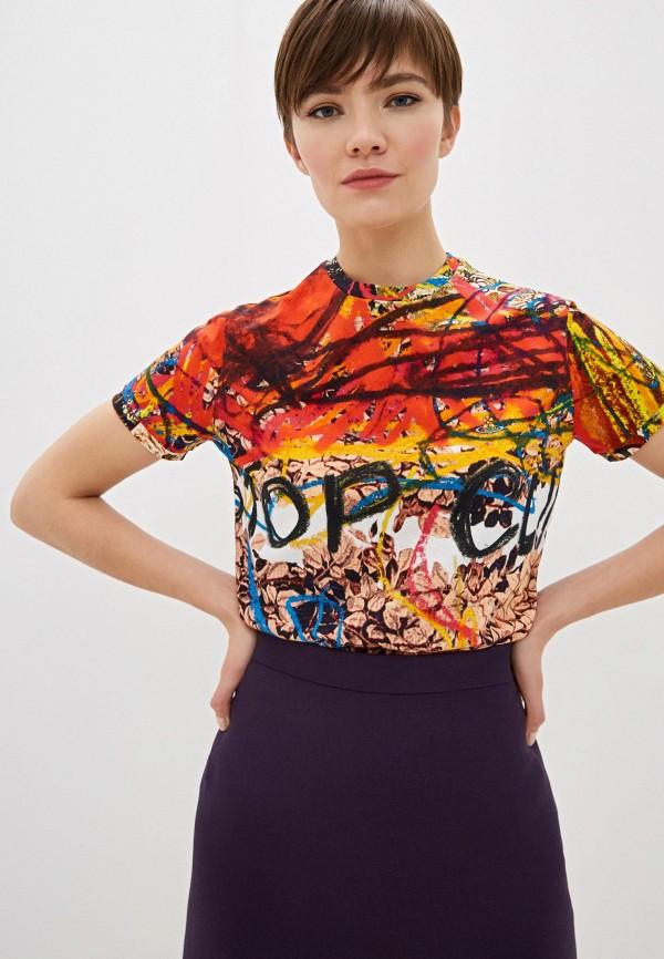женская футболка vivienne westwood, разноцветная
