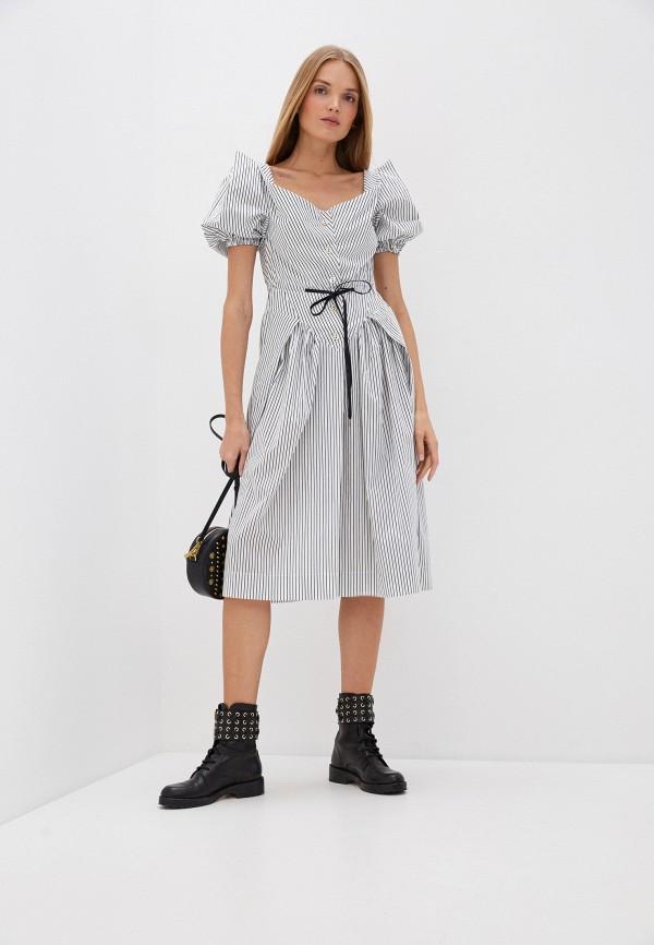 женское повседневные платье vivienne westwood, белое