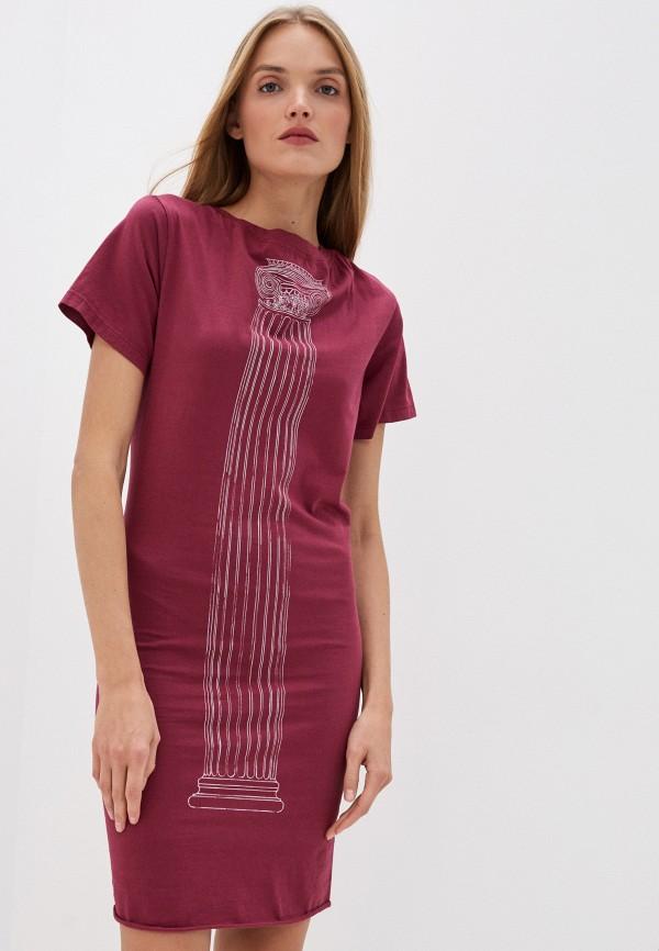 женское повседневные платье vivienne westwood, бордовое