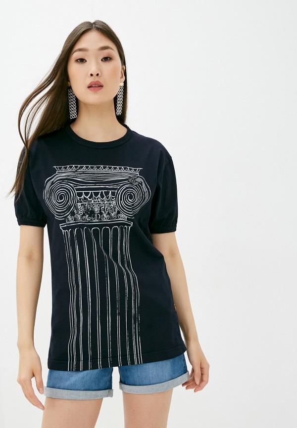 женская футболка vivienne westwood, синяя